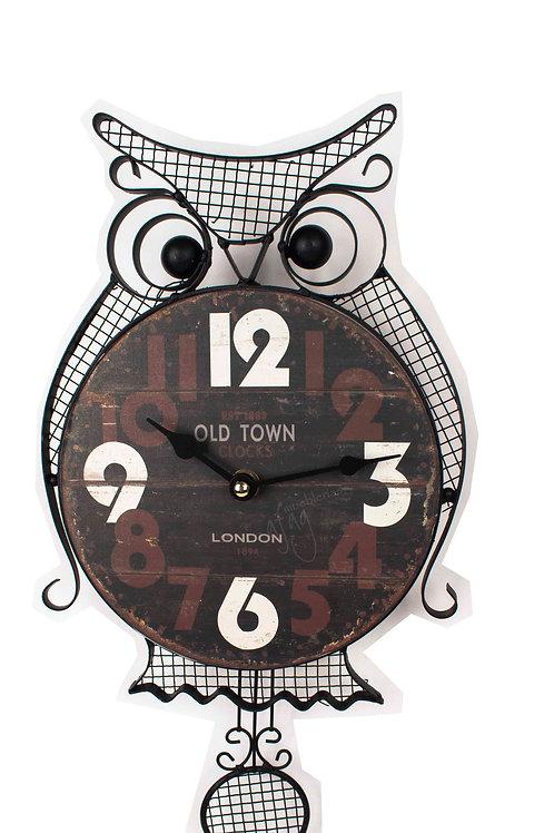 Reloj de Pared Buho