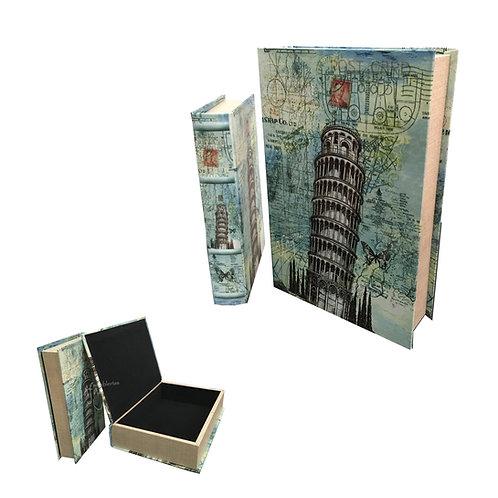 2 Libros - Cajas Decorativas