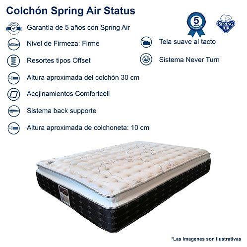 Colchón Spring Air Status Matrimonial