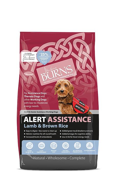 Burns Alert Lamb & Brown Rice Dog Food 6kg