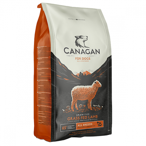 Canagan Grass Fed Lamb Dog Food 6kg