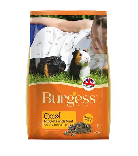 Burgess Excel Adult Guinea Pig Nuggets 4kg