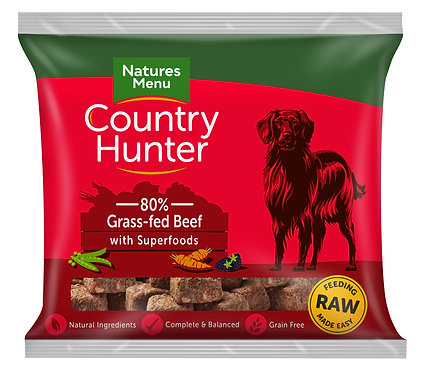 Country Hunter Raw Nugget Beef 1kg