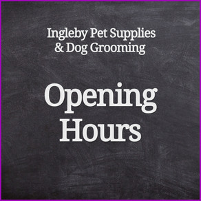 Opening Hours w/c 8th March