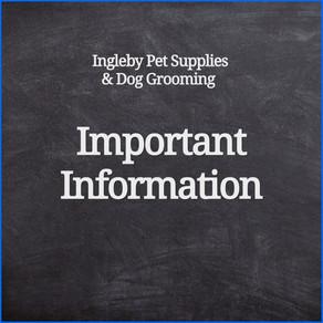 Open During Lockdown - Essential Retail & Dog Grooming