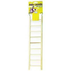 Happy Pet Wooden Bird Ladder 9step