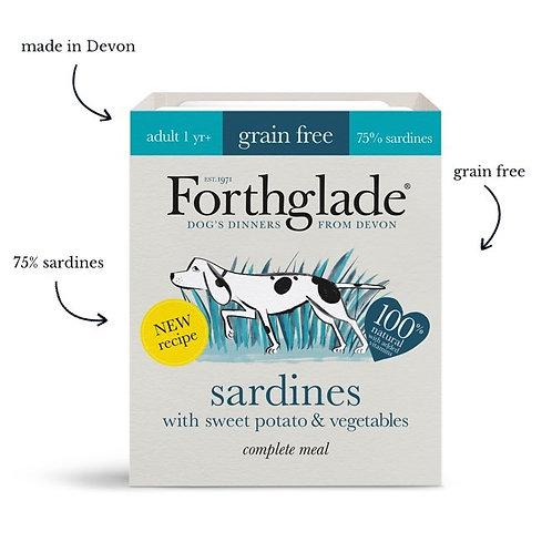 FORTHGLADE GRAIN FREE ADULT SARDINE 18 X 395G