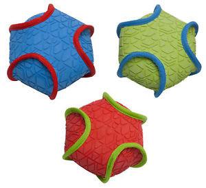 Petface Toyz Textured Rubber and Squeak Ball
