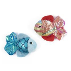 Ancol Glitterfish Cat Toy Assorted
