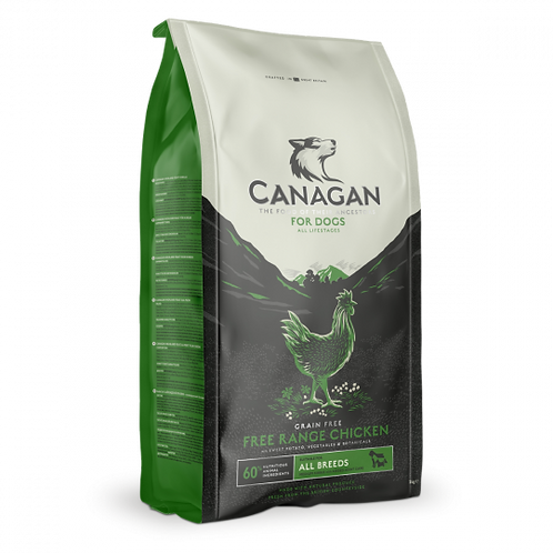Canagan Free Run Chicken Dog Food  6kg