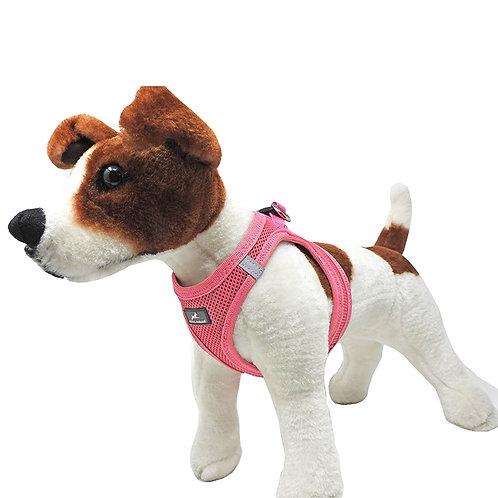 Miro & Makauri Step In Mesh Dog Harness Pink