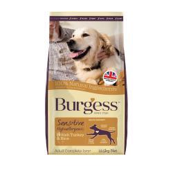 Burgess Sensitive Adult Dog Food Turkey & Rice