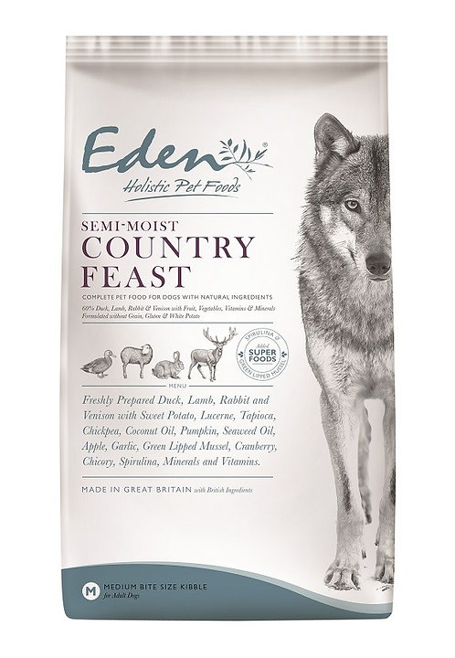 Eden Semi Moist Dog Food Country Feast