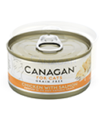Canagan Wet Cat Food Chicken with Salmon 75g
