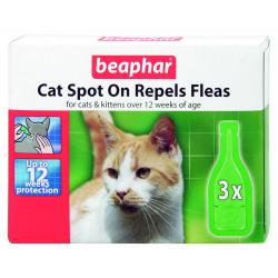 Beaphar Cat Spot Flea Treatment On 12 Week