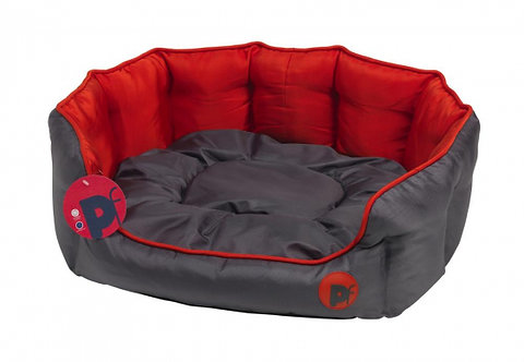 Oxford Water Resistant Oval Dog Bed