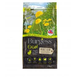 Burgess Excel Rabbit Nuggets Natures Blend 1.5kg