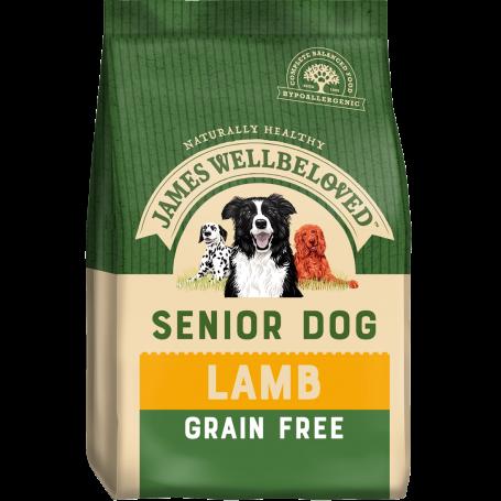 James Wellbeloved Senior Grain Free Lamb & Veg 10kg