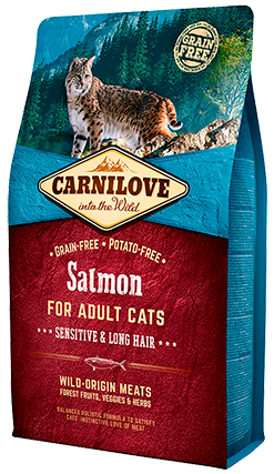 CARNILOVE SALMON FOR ADULT CATS 2KG