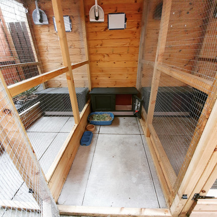 Spacious outdoor accommodation