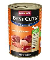 Animonda Adult Dog Best Cuts Tin Beef & Chicken 6 x 400g