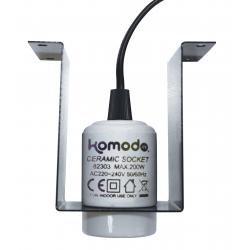 Komodo Ceramic Lamp & Bracket