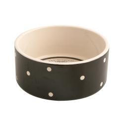 Mason Cash Polka Dot Black Bowl 18cm