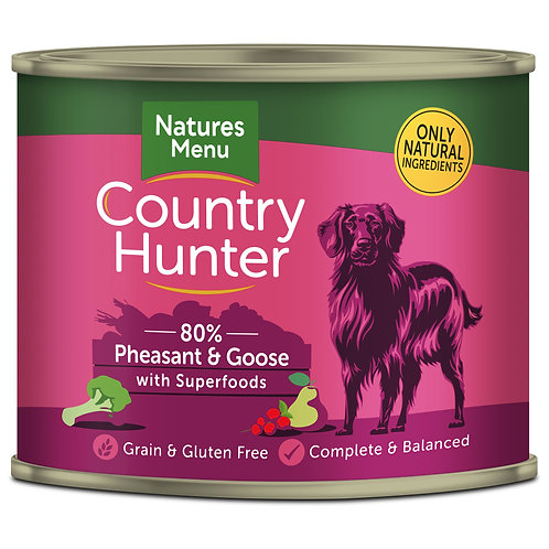 Country Hunter Pheasant & Goose Dog Food 600g