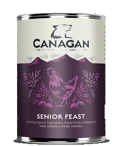 Canagan Wet Dog Food Senior Feast 400g x 6