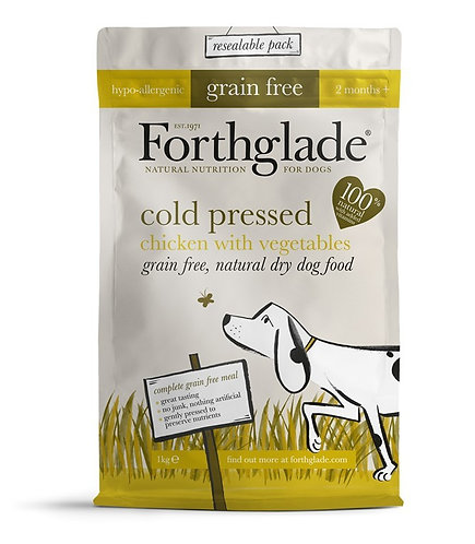 Forthglade Grain Free Cold Pressed Chicken Dog Food