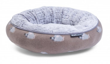 Angry Mouse Donut Cat Bed