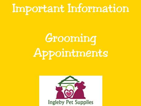 Grooming Waiting List