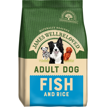 James Wellbeloved Adult Fish & Rice 15kg