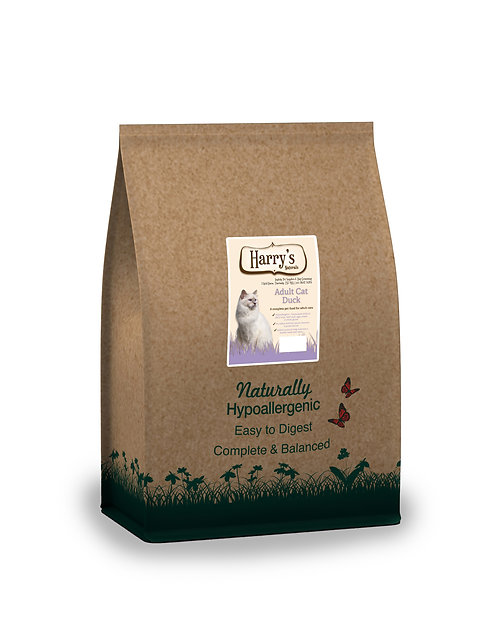 Harry's Naturals Hypoallergenic Duck & Rice Adult Cat Food 2kg