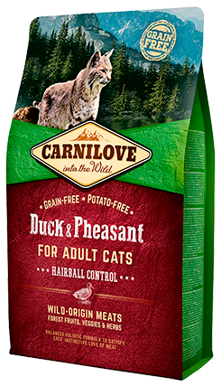 Carnilove Duck & Pheasant for Adult Cats 400g
