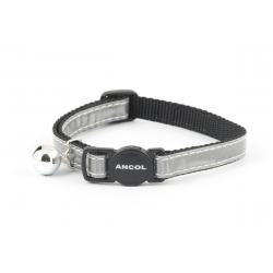 Ancol Cat Collar Gloss Reflective Silver