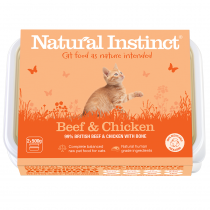Natural Instinct Beef & Chicken Cat Food