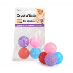 Cryst 'A' Balls Cat Toy