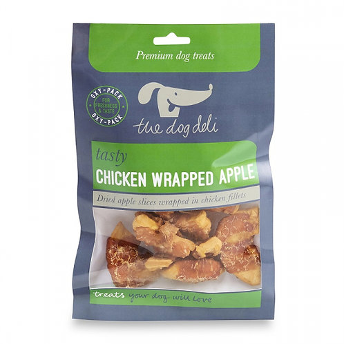 Dog Deli Chicken Wrapped Apple 100g