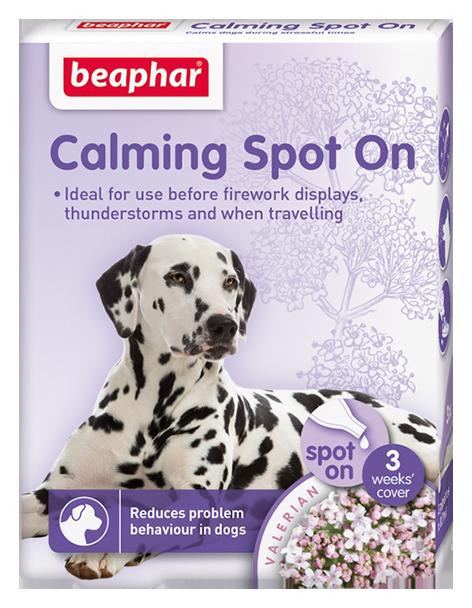 Beaphar Calming Spot on for Dogs 3wk.