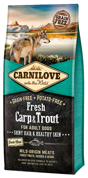 Carnilove Fresh Carp & Trout Dog Food 1.5kg