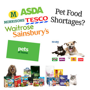 No Pet Food Shortage On Our Shelves!