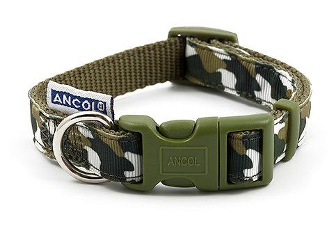 Ancol Green Combat Dog Collars & Lead