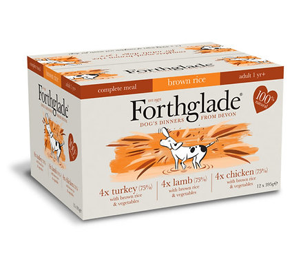 FORTHGLADE MULTIPACK WITH BROWN RICE 395G x 12