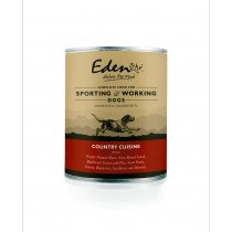 Eden Wet Dog Food Country Game 6 x 400g