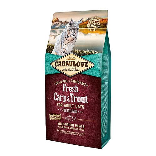 Carnilove Fresh Carp & Trout Cat Food