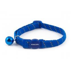 Ancol Cat Collar Reflective Blue