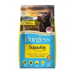 Burgess Supadog Light Dog Food Chicken