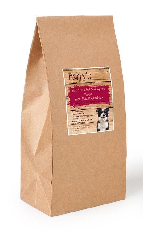 Harry's Grain Free Dog Food Venison with Salmon, Sweet Potato & Mulberry 15kg