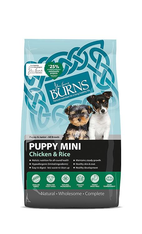 Burns Puppy Mini Chicken Dog Food 6kg